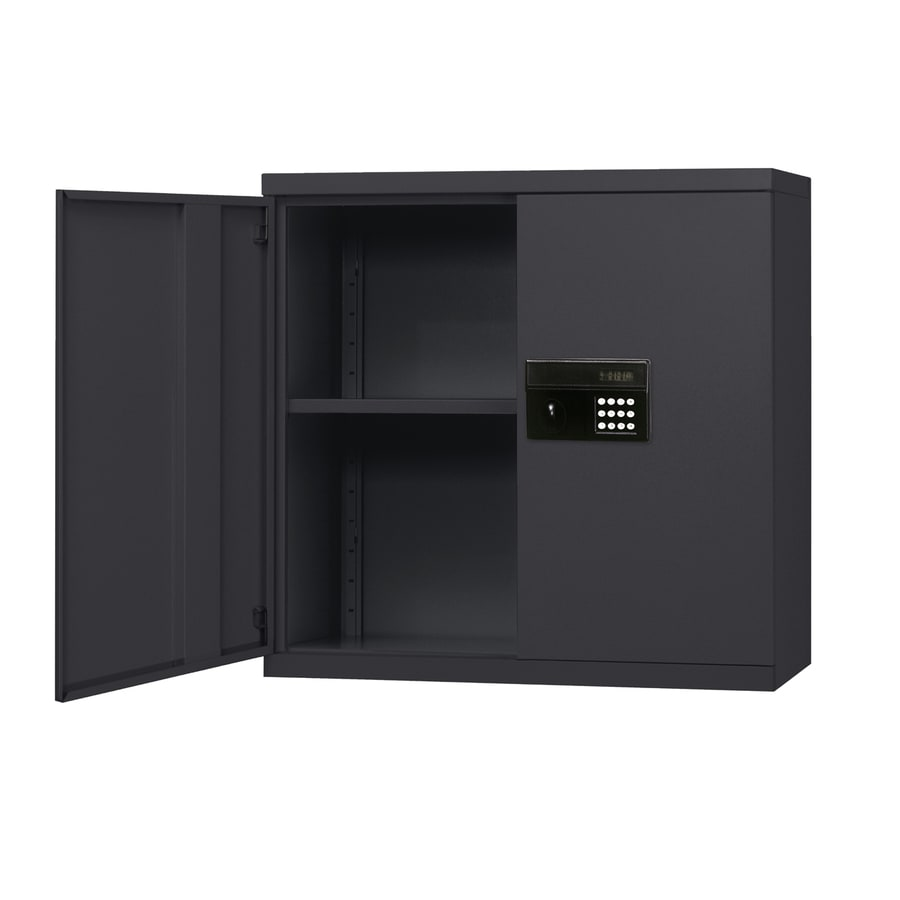 edsal 30-in W x 30-in H x 12-in D Steel Wall-mount Garage Cabinet