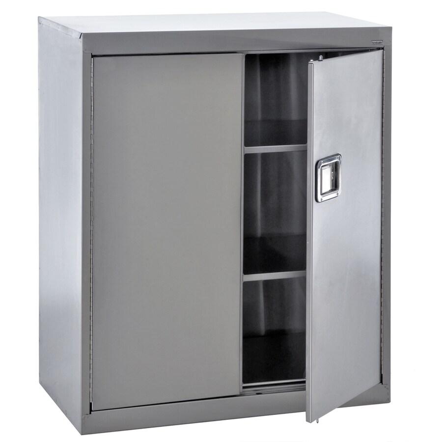 edsal 36-in W x 42-in H x 18-in D Steel Freestanding Garage Cabinet