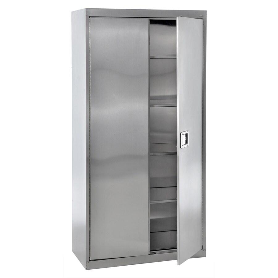 edsal 36-in W x 78-in H x 24-in D Steel Freestanding Garage Cabinet