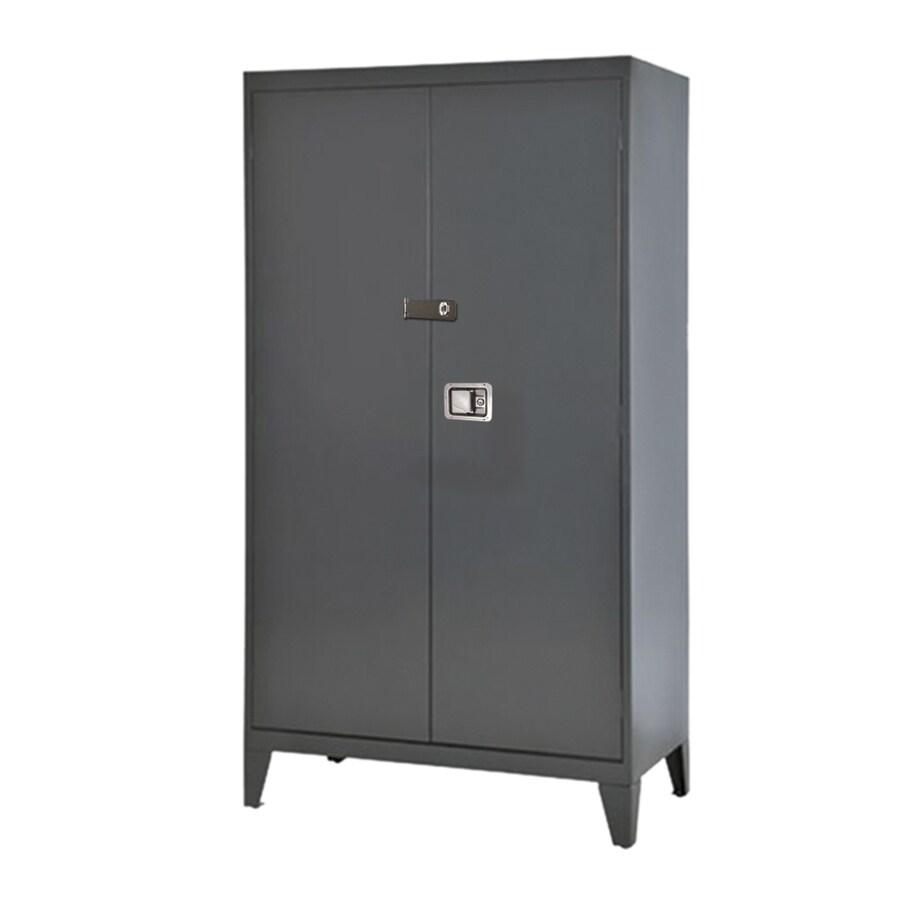 edsal 46-in W x 79-in H x 18-in D Steel Freestanding Garage Cabinet