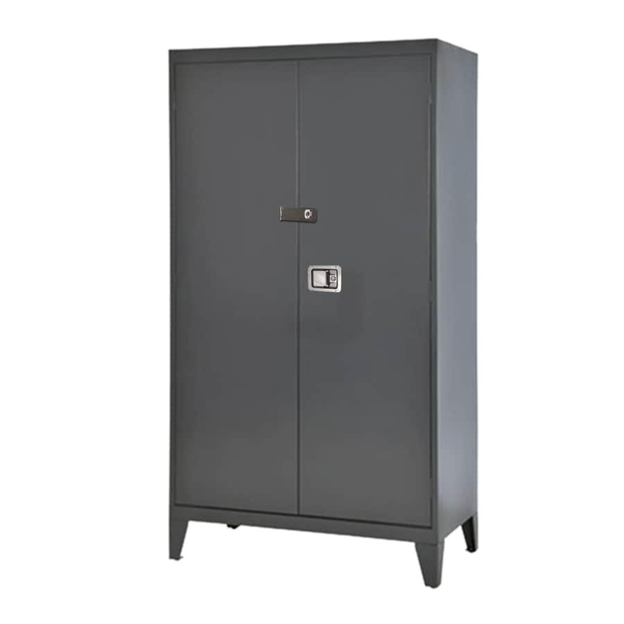 edsal 46-in W x 79-in H x 24-in D Steel Freestanding Garage Cabinet