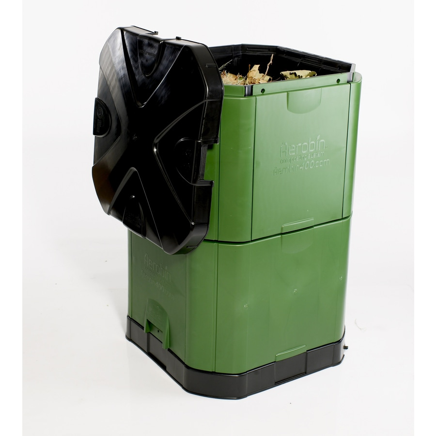 Exaco 14-cu ft Plastic Stationary Bin Composter