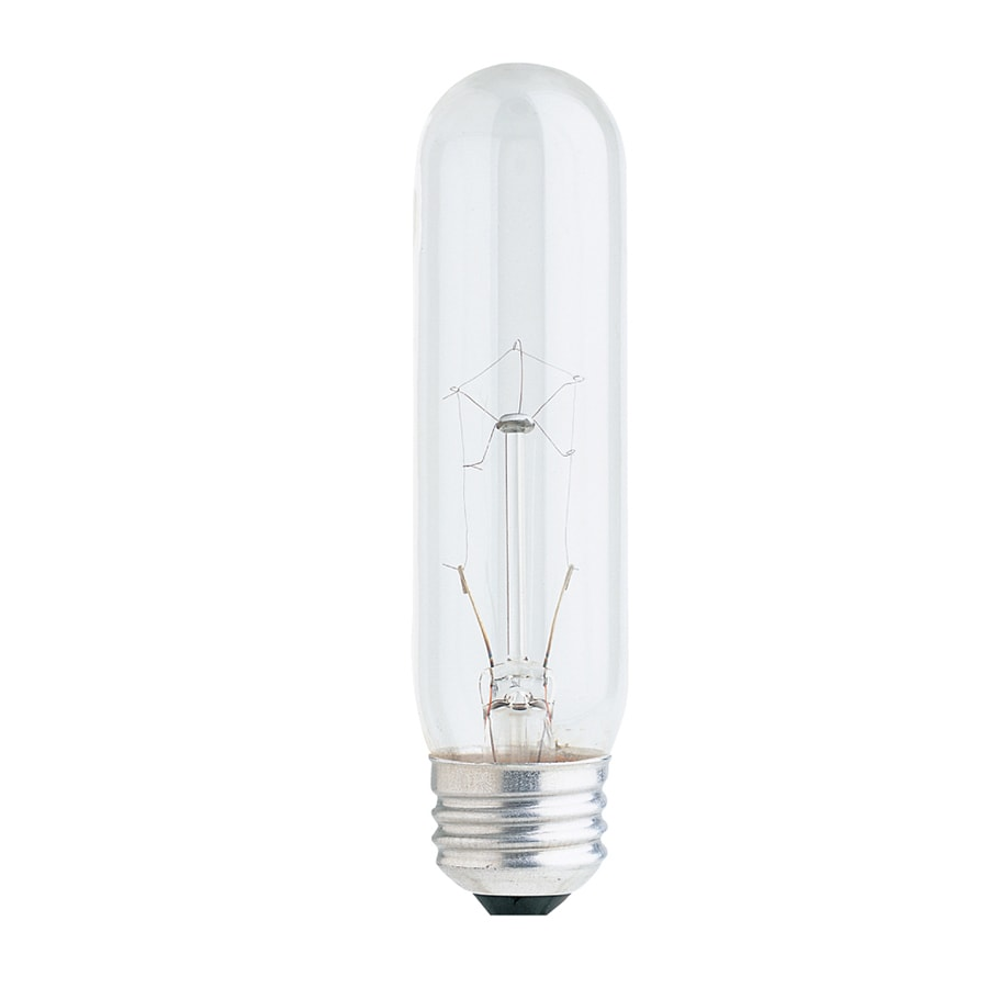 Outside Lights Daylight Or Soft White: Feit Electric 40-Watt Dimmable T10 Decorative Incandescent