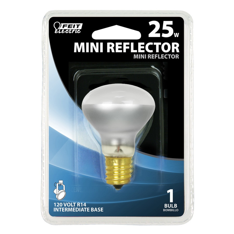 Feit Electric 25 Watt for Indoor or Enclosed Outdoor Soft White R14 Incandescent Flood Light Bulb