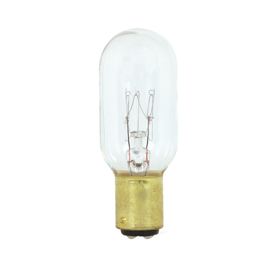 Shop feit electric 25 watt indoor dimmable soft white t8 incandescent appliance light bulb at Light bulb wattage
