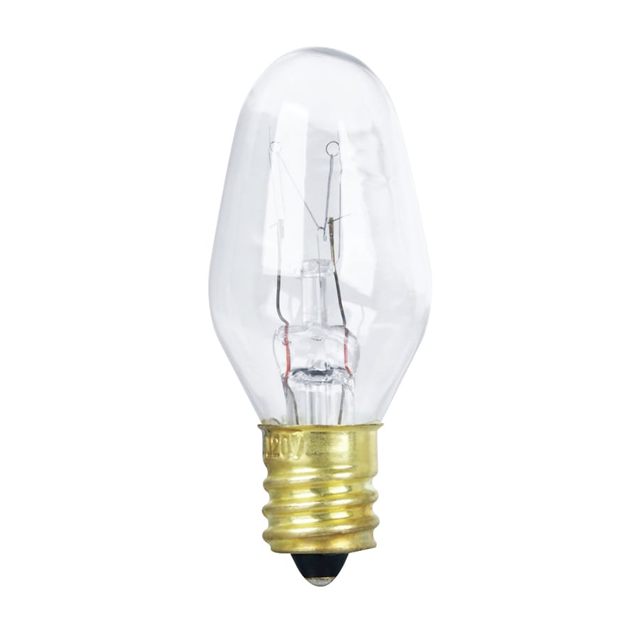 Shop Feit Electric 4 Pack 4 Watt Indoor Dimmable Soft White C7 Incandescent Night Light Bulbs At