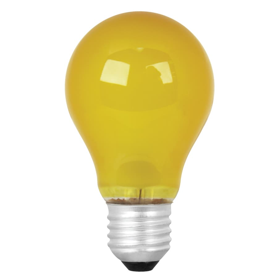 Mood-lites 25 Watt for Indoor or Enclosed Outdoor Yellow Incandescent Decorative Light Bulb