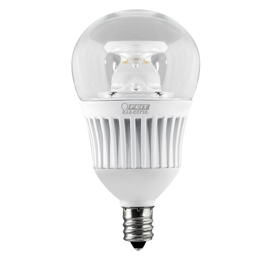 Shop Feit Electric 60 W Equivalent Dimmable Warm White A15 LED Decorative Light Bulb at Lowes.com