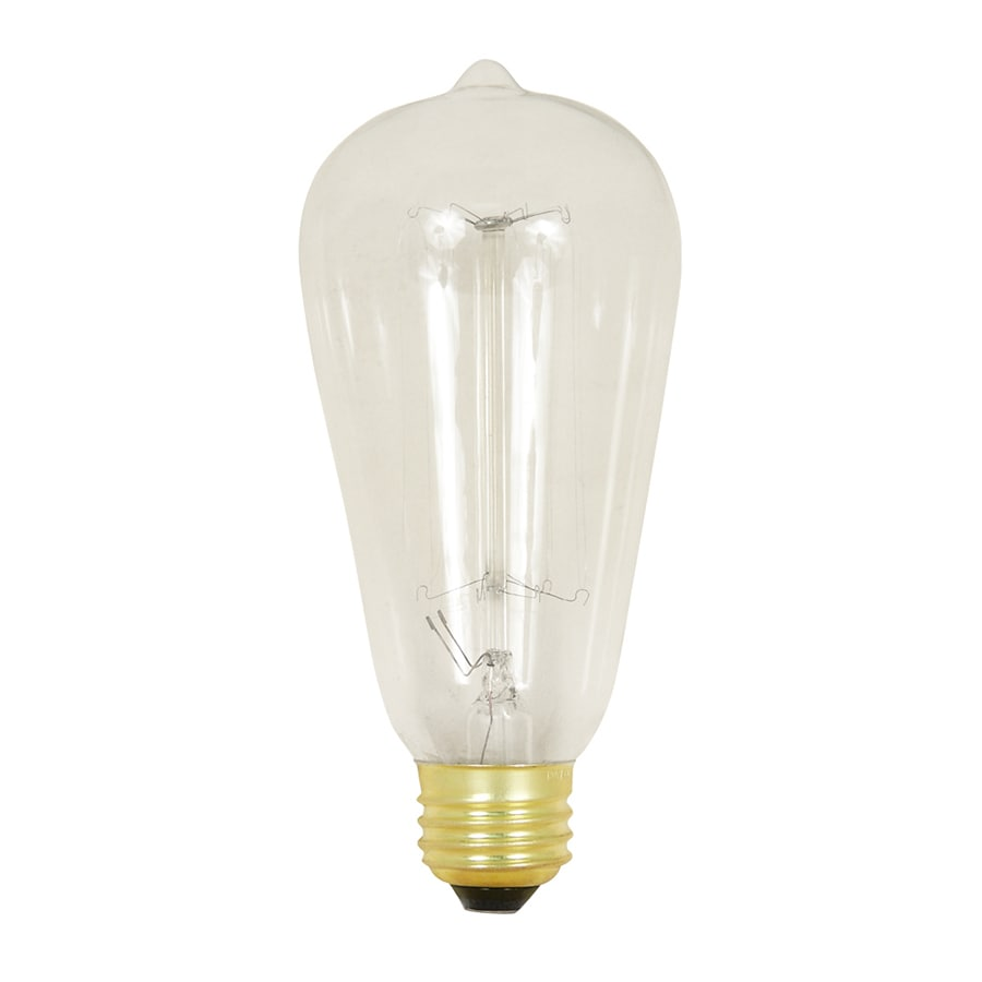Feit Electric 60-Watt Medium Base (E-26) Soft White Dimmable Decorative Incandescent Light Bulb