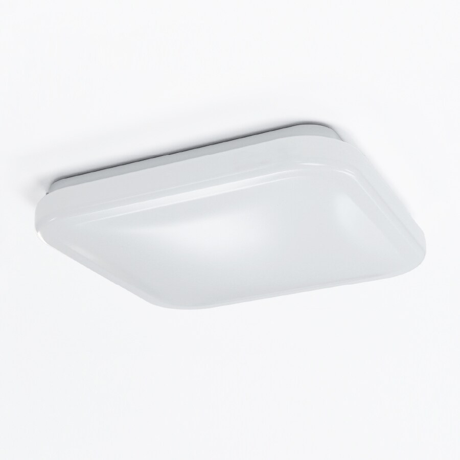 Feit Electric 12-in W White LED Flush Mount Light
