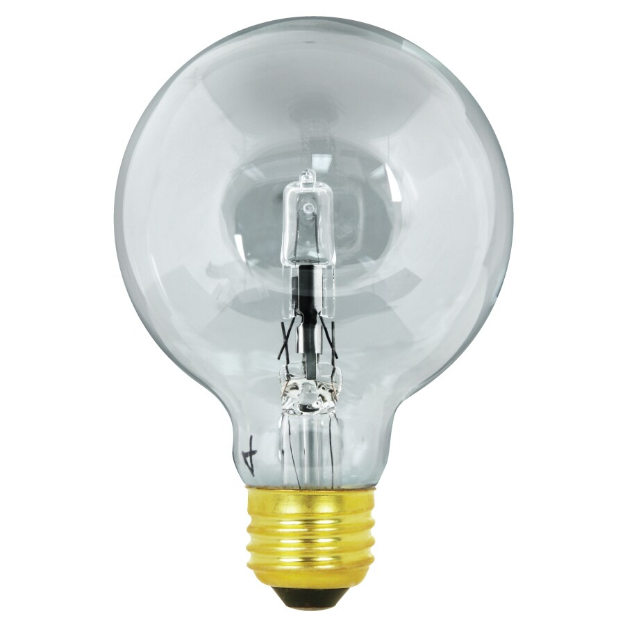 Feit Electric 40 Watt Dimmable Warm White G25 Halogen Decorative Light Bulb