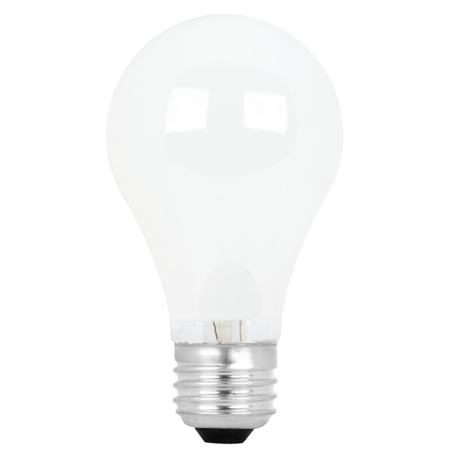 Feit Electric 2-Pack 72-Watt A19 Medium Base (E-26) Warm White Halogen Light Bulb