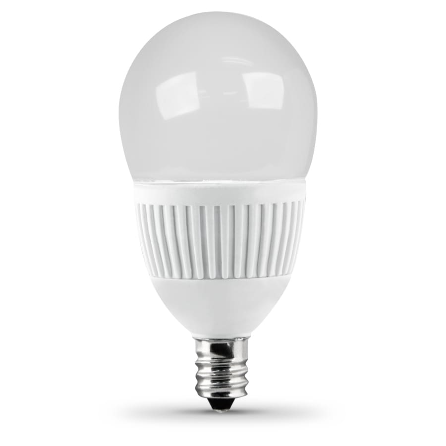 Bulbrite 40w Equivalent Warm White Light G16 Dimmable Led: Utilitech 4.8-Watt (40W Equivalent) 3,000K Candelabra Base