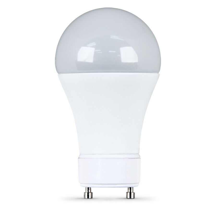 utilitech 7watt 40w equivalent 3000k a19 gu24 pin base dimmable warm white