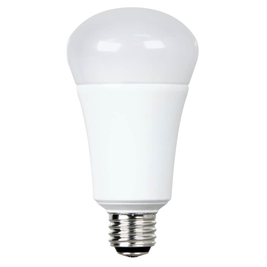 Write a review about utilitech pro 100w equivalent soft white 3 way bulb a21 led light fixture 3 way light bulbs