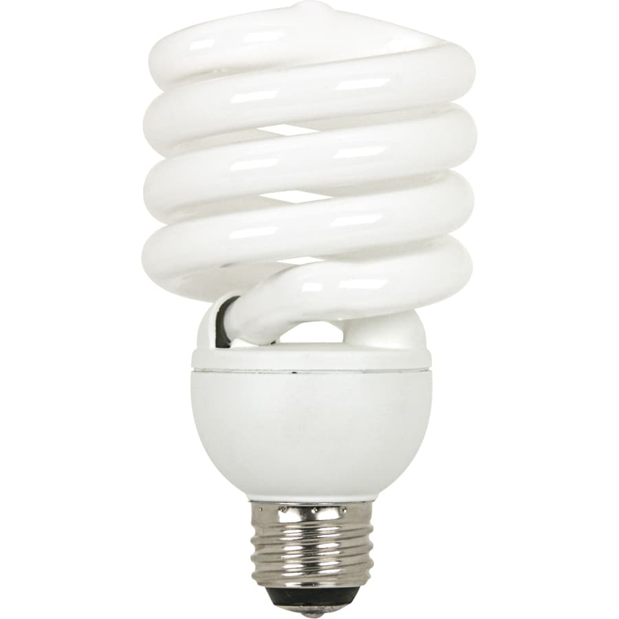 Utilitech 32-Watt (150 W Equivalent) Spiral Medium Base Daylight (5000K) 3-Way CFL Bulb