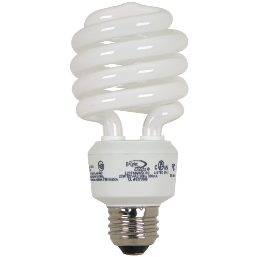 Bright Effects 4-Pack Equivalent Daylight CFL Light Fixture Light Bulbs
