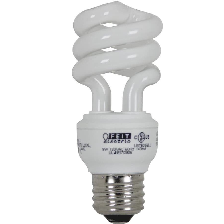 Bright Effects Equivalent Bright White CFL Light Fixture Light Bulb