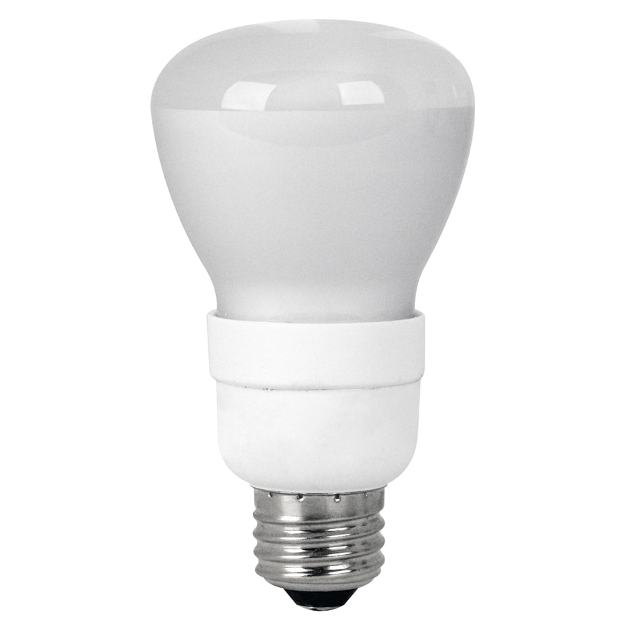 Utilitech 50 W Equivalent Bright White R20 CFL Flood Light Bulb