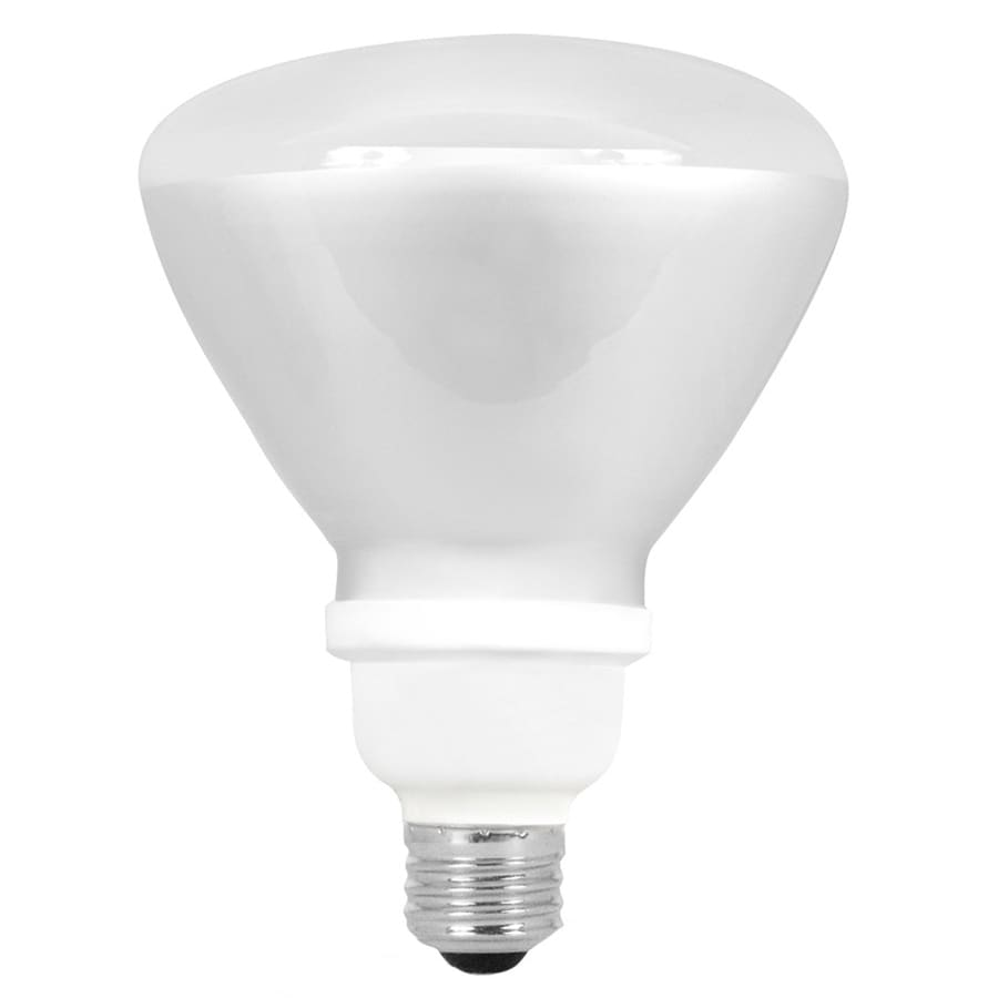 Utilitech 75 W Equivalent Bright White Br40 CFL Flood Light Bulb