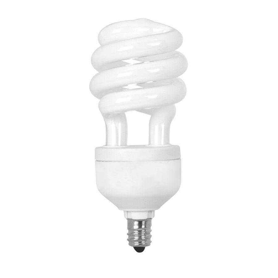 Utilitech 13-Watt (60W Equivalent) Spiral Candelabra Base Soft White (2700K) CFL Bulb