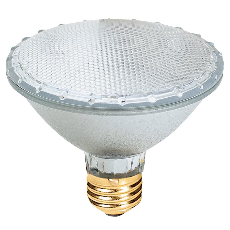 Utilitech 2-Pack 75-Watt PAR 30 Shortneck Medium Base Bright White Halogen Flood Light Bulbs