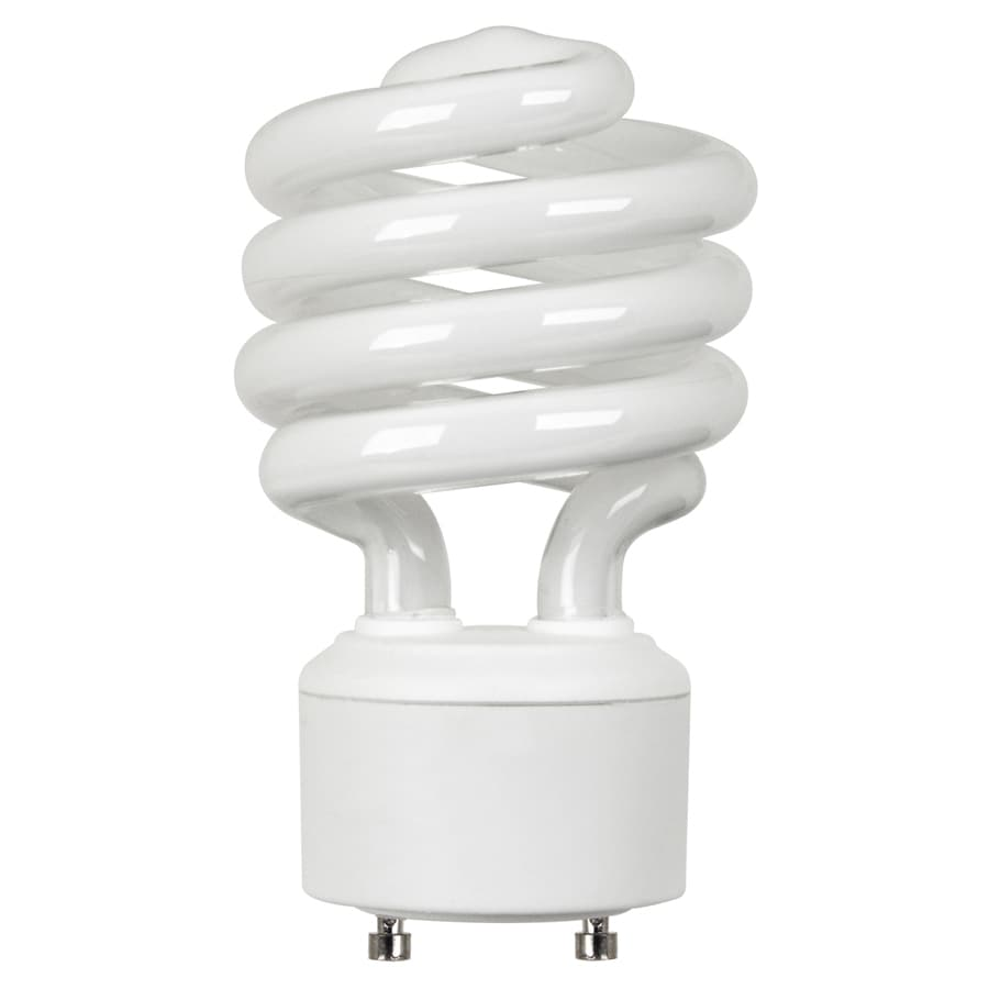 Shop Utilitech 100 W Equivalent Soft White Spiral Cfl Tube Light Bulb At