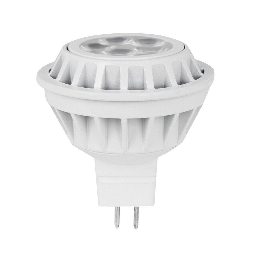 Utilitech 7-Watt (35 W) MR16 GU5.3 Base Warm White Indoor LED Flood Light Bulb