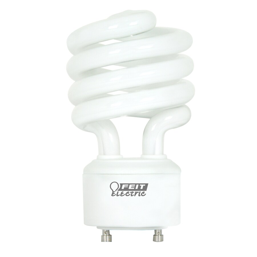 Utilitech 13-Watt (60 W Equivalent) Spiral GU24 Pin Base Soft White (2700K) CFL Bulb