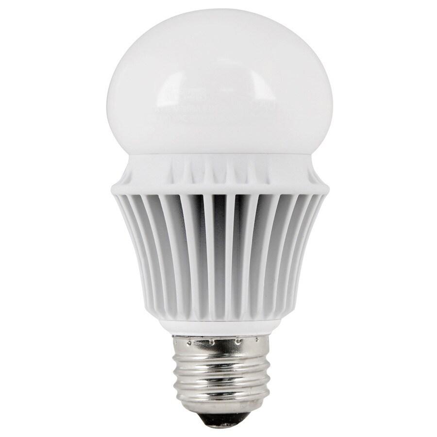 Utilitech Pro 9.8-Watt (60 W Equivalent) A19 Medium Base Warm White (3000K) Indoor LED Bulb