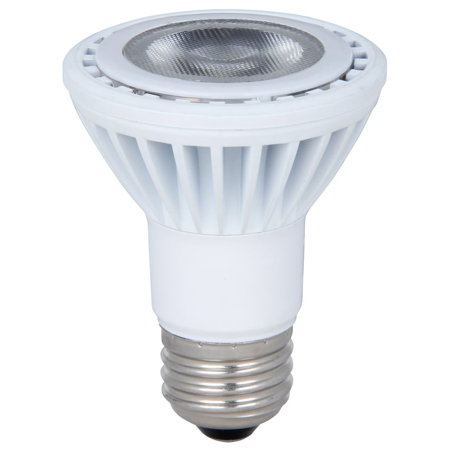 Utilitech 9.5-Watt (50 W) PAR20 Daylight Indoor LED Flood Light Bulb