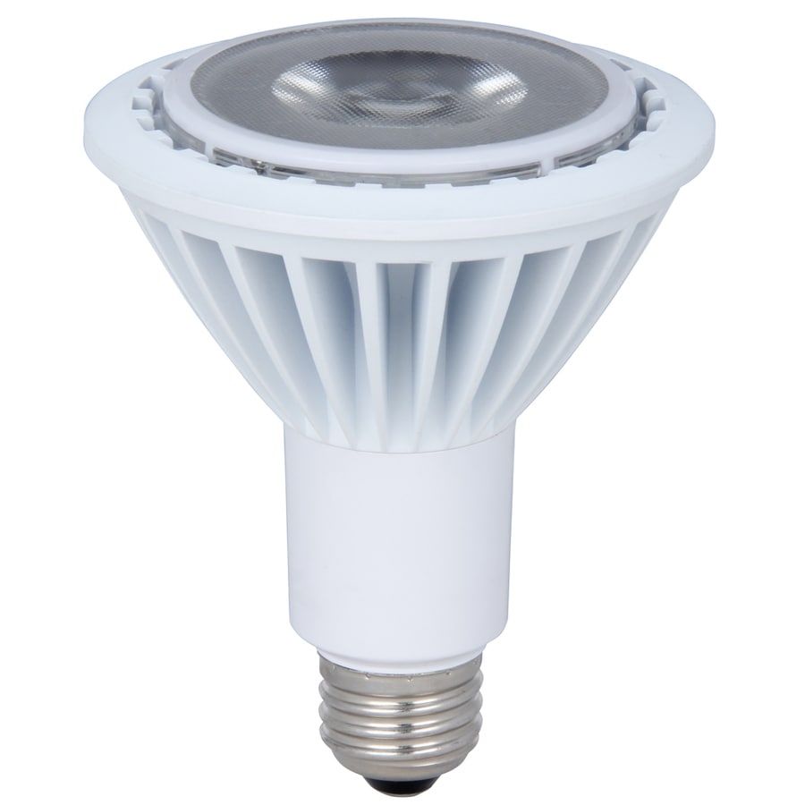 Utilitech 15-Watt (75W) PAR30 Longneck  Base Warm White (3000K) Outdoor Decorative LED Bulb