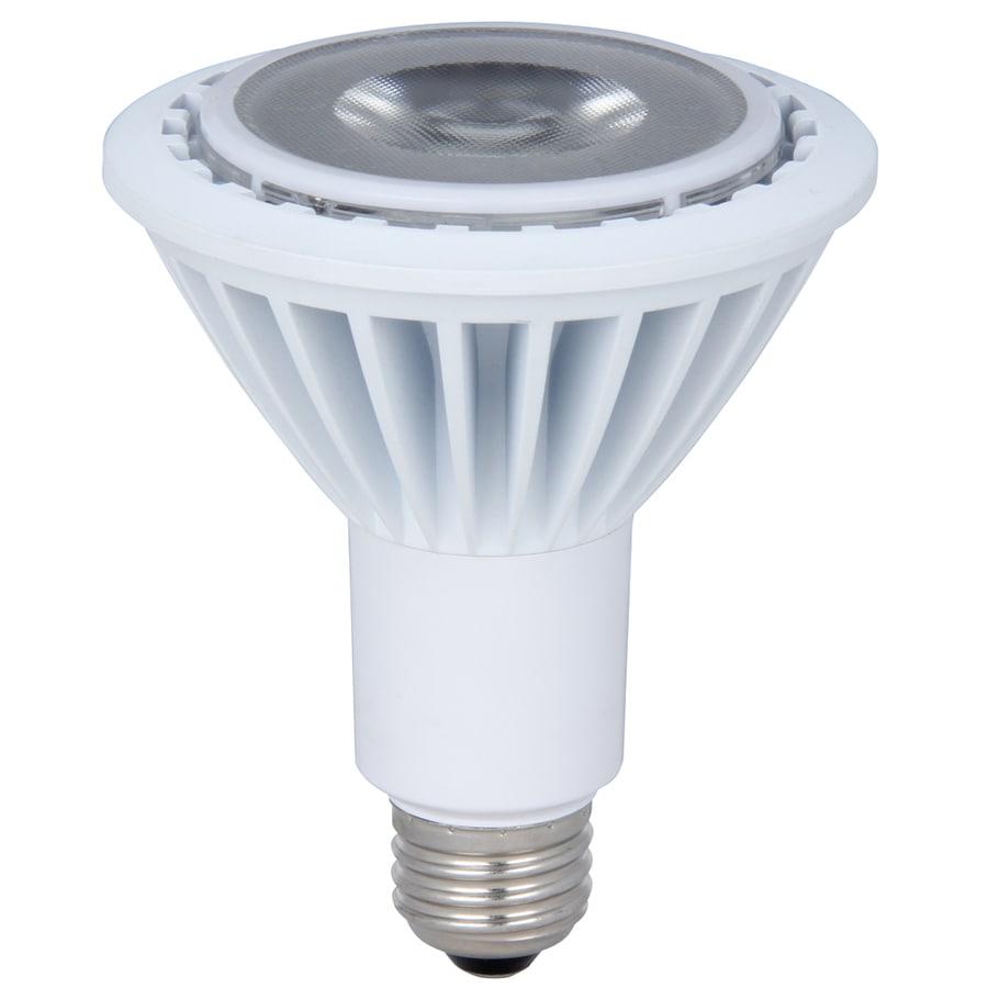 Utilitech 75W Equivalent Dimmable Daylight Par30 Longneck LED Flood Light Bulb