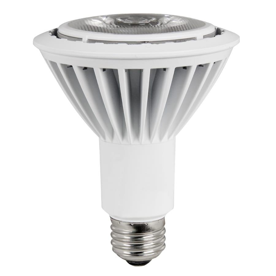 Utilitech 75W Equivalent Dimmable Warm White Par30 Longneck LED Spot Light Bulb