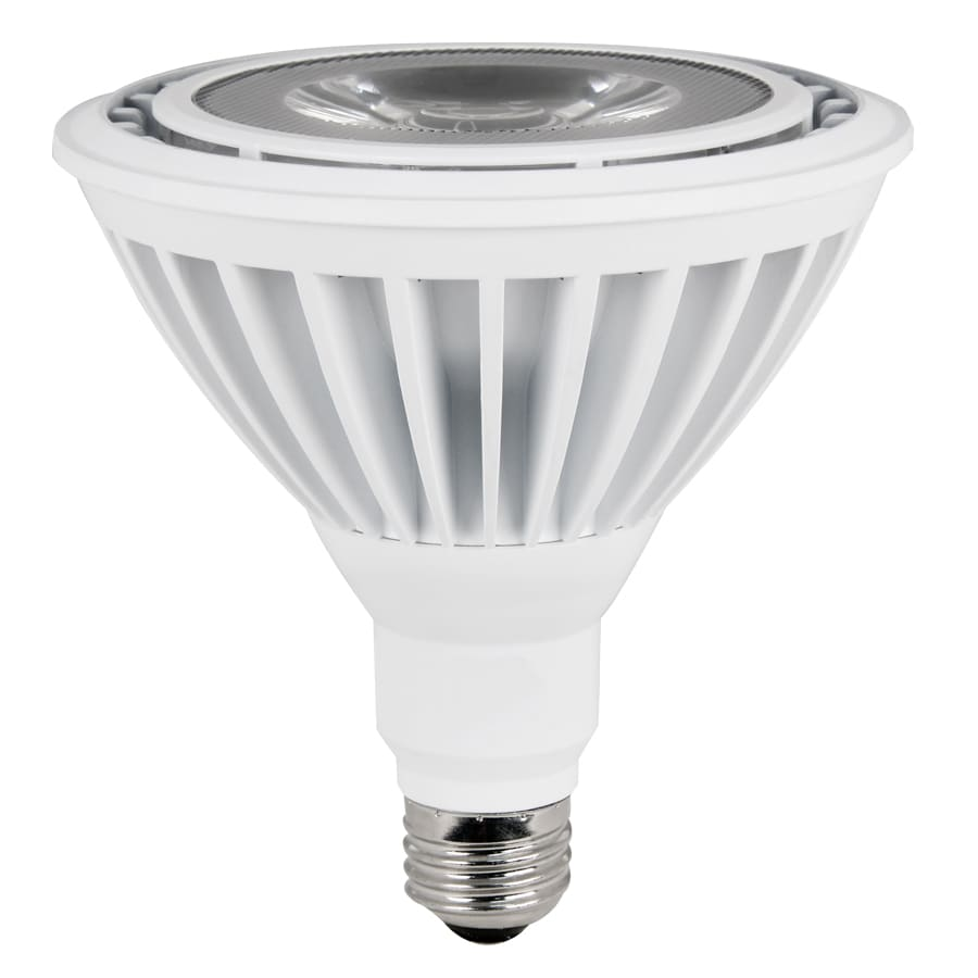 Utilitech 90W Equivalent Dimmable Warm White Par38 LED Spot Light Bulb