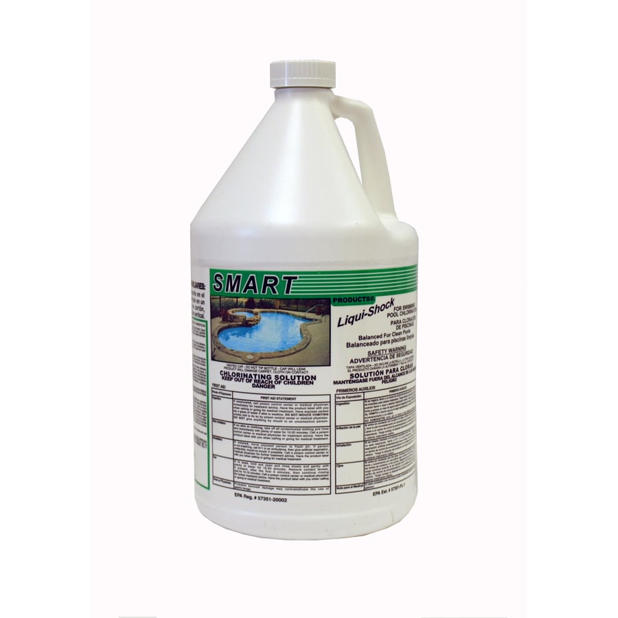 Write a Review about SMART 1-Gallon Liquid Pool Chlorine at