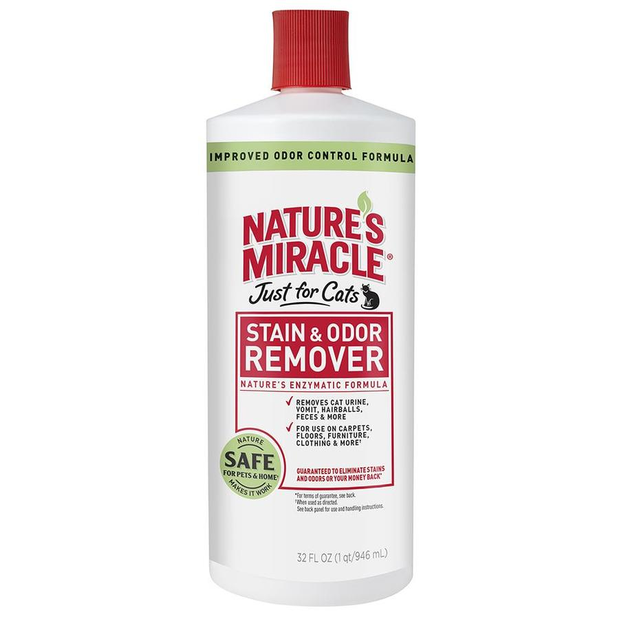 Nature's Miracle Just for Cats Stain and Odor 32-oz Carpet Cleaning Solution