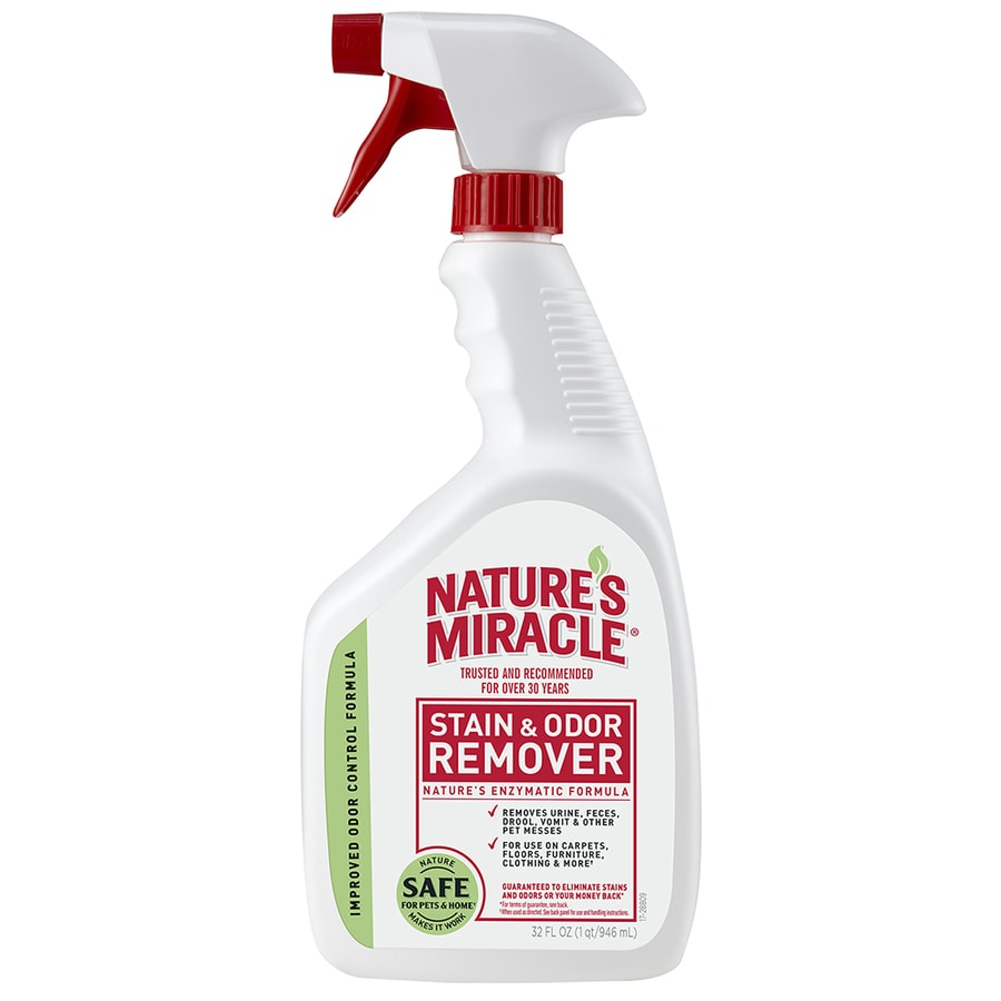 Nature's Miracle Stain and Odor 32-oz Carpet Cleaning Solution