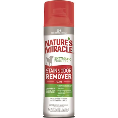 Nature's Miracle NM Stain and Odor Remover Foaming Aerosol