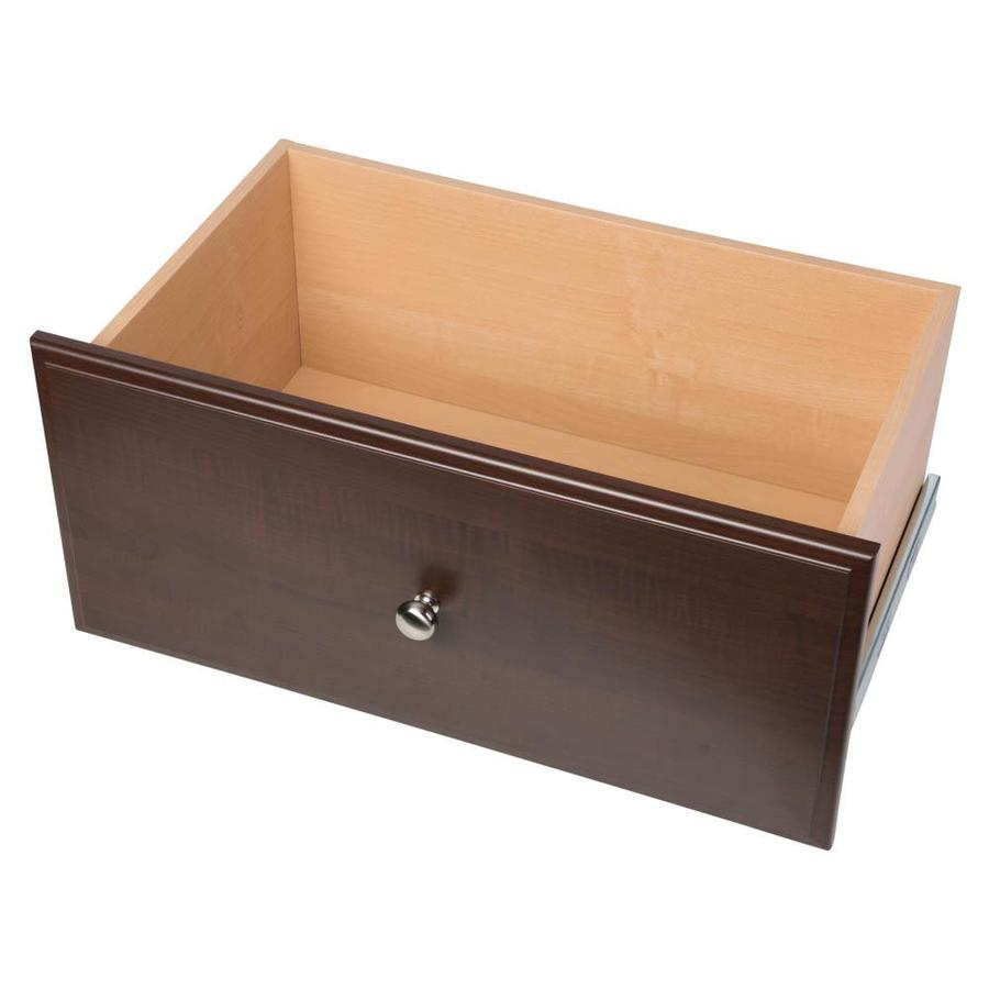 Easy Track 24-in x 12-in x 14-in Truffle Wood Drawer Unit
