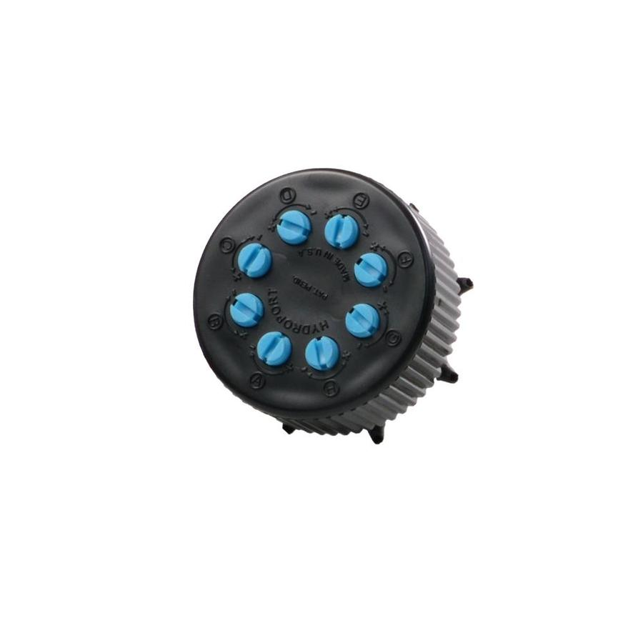 Raindrip 8 Port Combination Irrigation Manifold With
