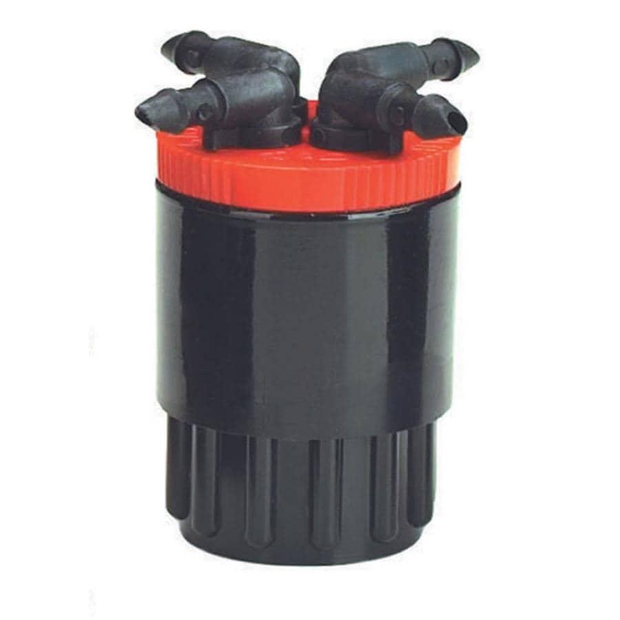 Raindrip 4-Port Combination Irrigation Manifold with Filter