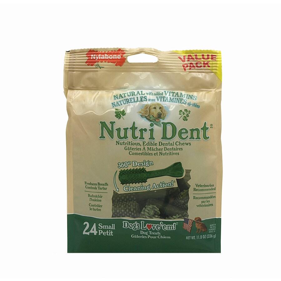 Nylabone 11.8-oz Gluten-Free Natural-Flavor Dental Treats