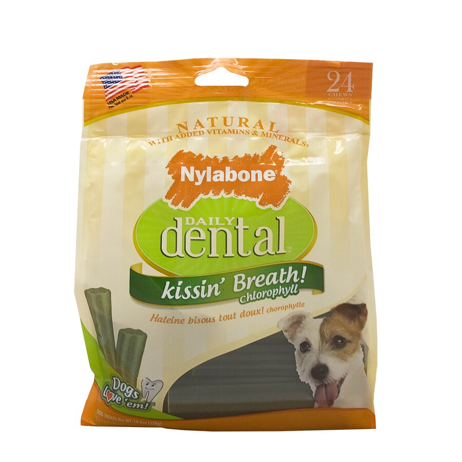 Nylabone 20-oz All-Natural Chicken-Flavor Dental Treats