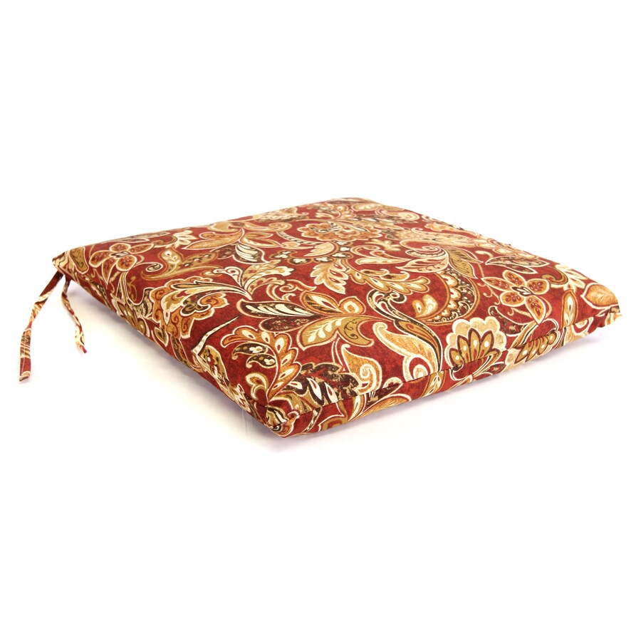 Cashel Garnet Floral Seat Pad For Universal
