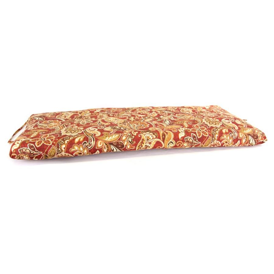 Cashel Garnet Floral Cushion For Glider