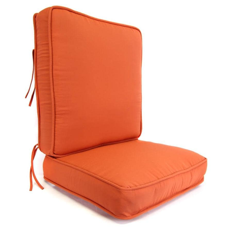 Pottery Solid Deep Seat Patio Chair Cushion for Deep Seat Chair