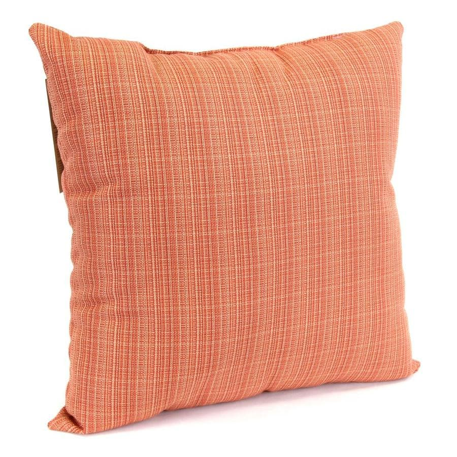 Raj Salsa Plaid Square Outdoor Decorative Pillow