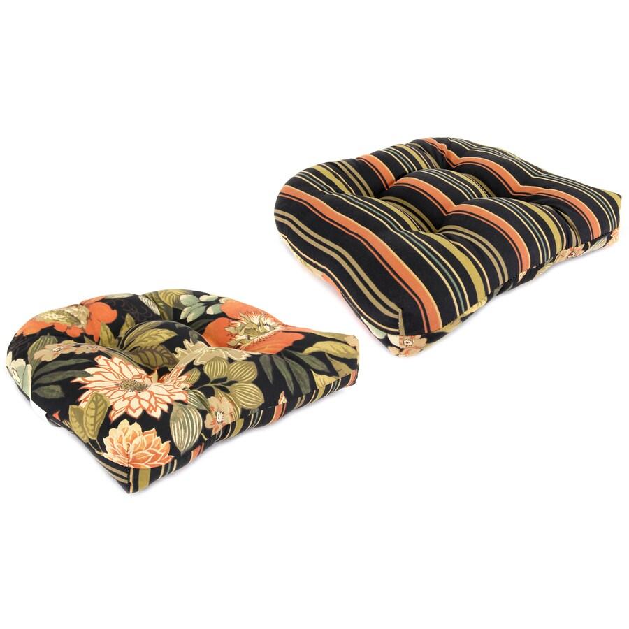 Jordan Manufacturing Floral Jolene Lava/Jolene Stripe Lava Universal Seat Pad