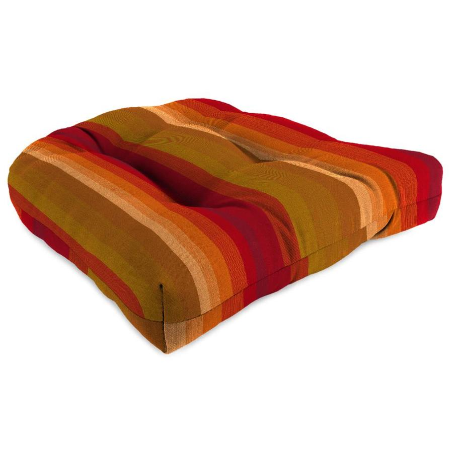 Sunbrella Astoria Sunset Stripe Standard Patio Chair Cushion